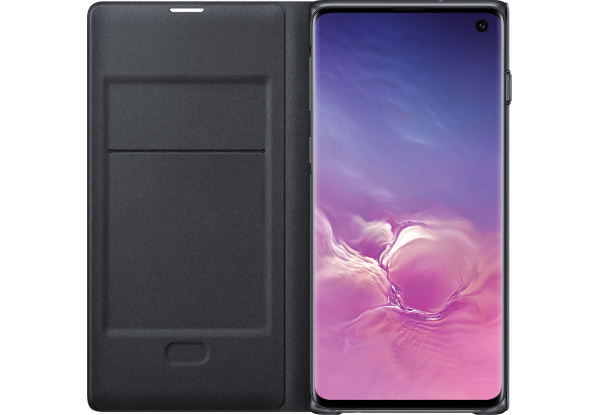 Чехол Samsung S10 LED View Cover Black