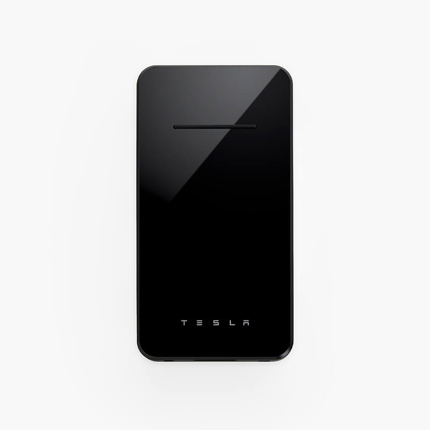 Аккумулятор Tesla Powerbank Wireless Phone Charger Black