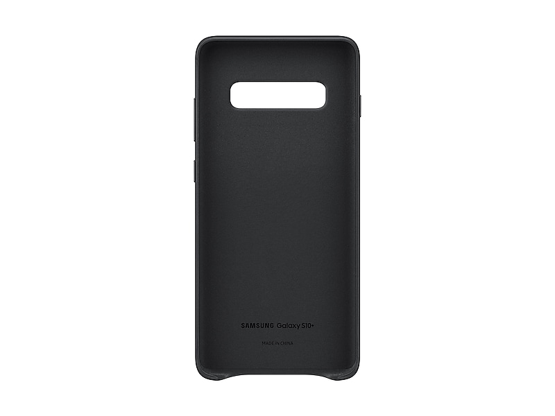 Чехол Galaxy S10+ Leather Back Cover